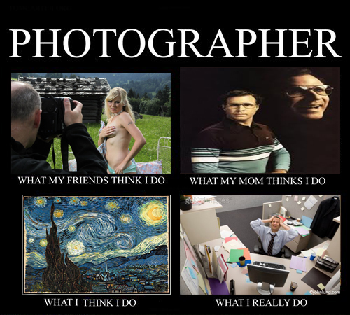 What Photographers Really Do