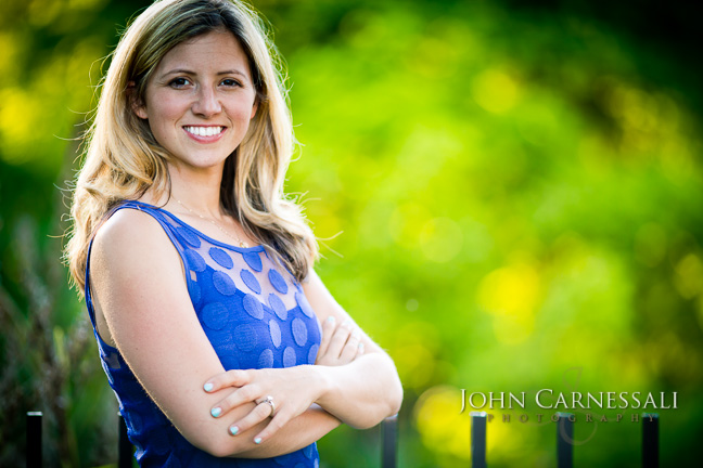 Outdoor Head Shot Photography Session