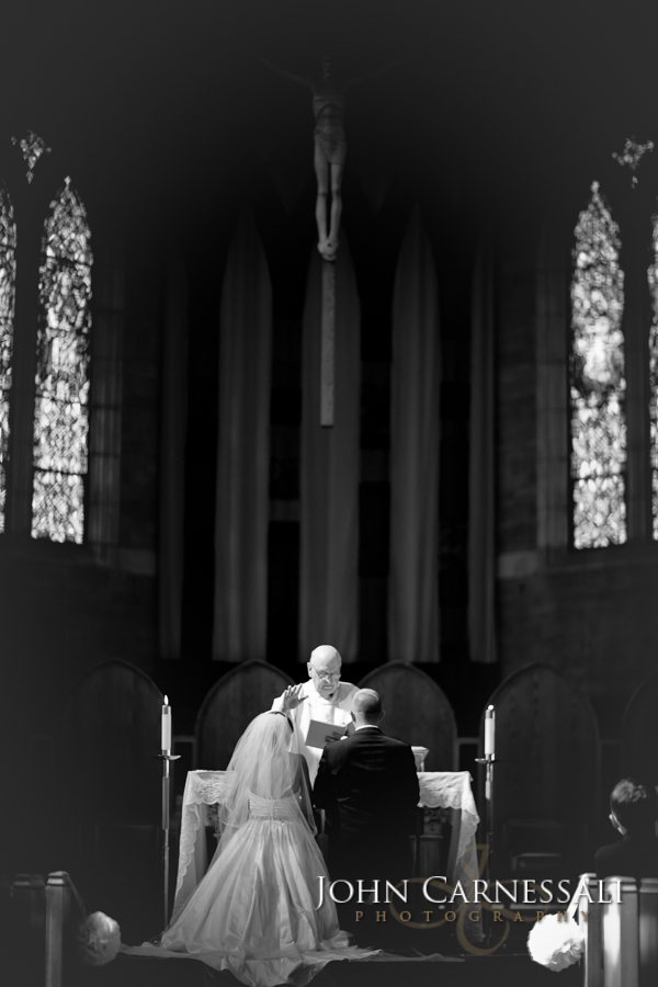 Wedding at Blessed Sacrament Church